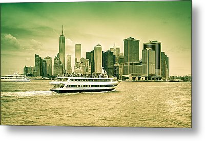 New York Metropolitan Metal Print by Nick Mares