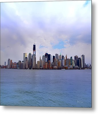 New York - Standing Tall Metal Print by Bill Cannon