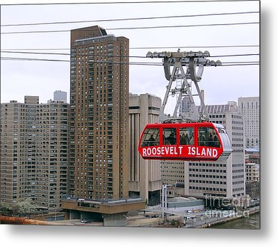 New York State Of Mind Metal Print by Ed Weidman