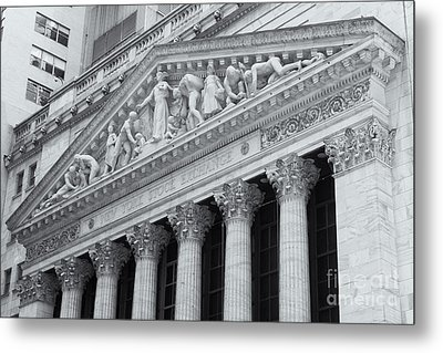 New York Stock Exchange II Metal Print by Clarence Holmes