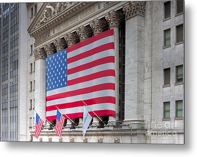 New York Stock Exchange IIi Metal Print by Clarence Holmes