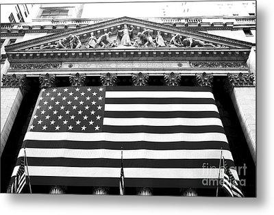New York Stock Exchange Metal Print by John Rizzuto