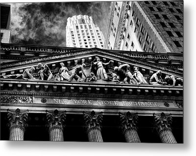 New York Stock Exchange Metal Print