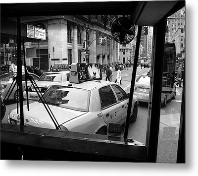 New York Street Photography 14 Metal Print by Frank Romeo