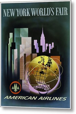 New York Worlds Fair Metal Print