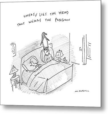 New Yorker April 10th, 2017 Metal Print