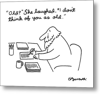 New Yorker April 28th, 1986 Metal Print by Charles Barsotti