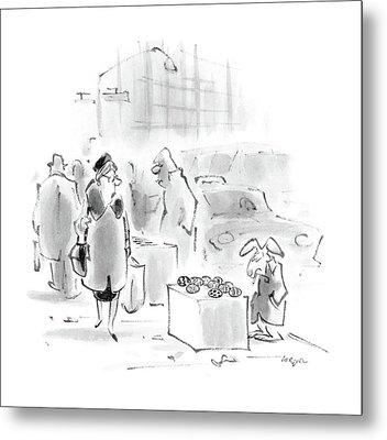 New Yorker April 4th, 1988 Metal Print by Lee Lorenz
