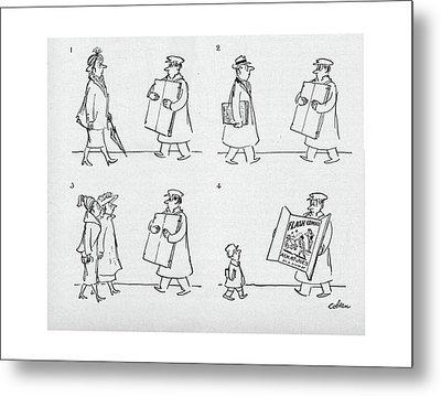 New Yorker April 9th, 1949 Metal Print