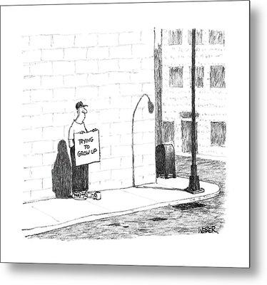 New Yorker August 15th, 1988 Metal Print by Robert Weber