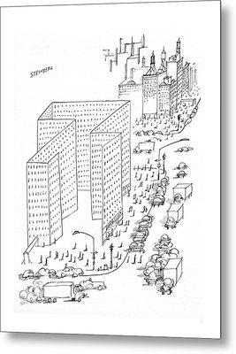 New Yorker August 21st, 1965 Metal Print