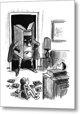 New Yorker August 3rd, 1992 Metal Print by Warren Miller