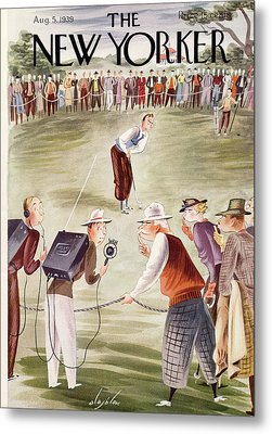 New Yorker August 5th, 1939 Metal Print