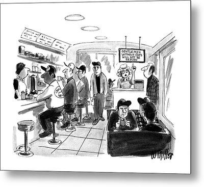 New Yorker August 6th, 1990 Metal Print by Warren Miller