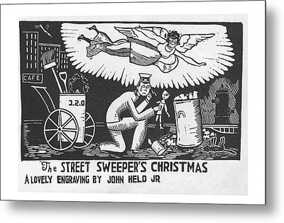 New Yorker December 12th, 1925 Metal Print by Jr., John Held