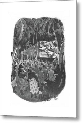 New Yorker December 18th, 1943 Metal Print