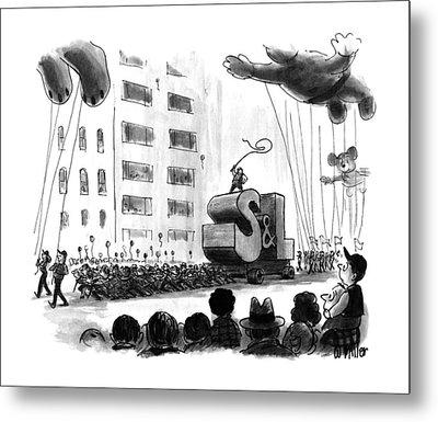 New Yorker December 2nd, 1991 Metal Print