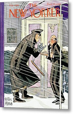 New Yorker February 1st, 1941 Metal Print by Peter Arno