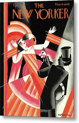 New Yorker February 6th, 1926 Metal Print