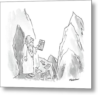 New Yorker January 18th, 1988 Metal Print by James Stevenson