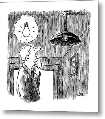 New Yorker January 27th, 1992 Metal Print by John Jonik
