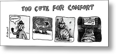 New Yorker January 7th, 1980 Metal Print by Roz Chast
