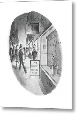 New Yorker June 13th, 1942 Metal Print by Ned Hilton