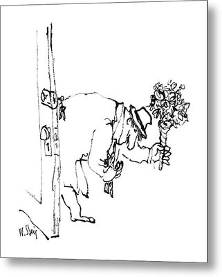 New Yorker June 20th, 1988 Metal Print by William Steig