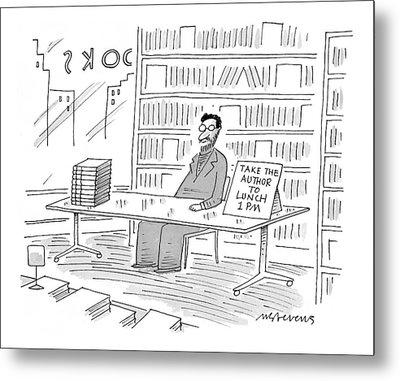 New Yorker June 22nd, 1998 Metal Print by Mick Stevens