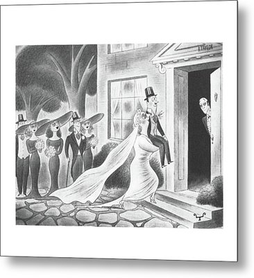 New Yorker June 7th, 1941 Metal Print