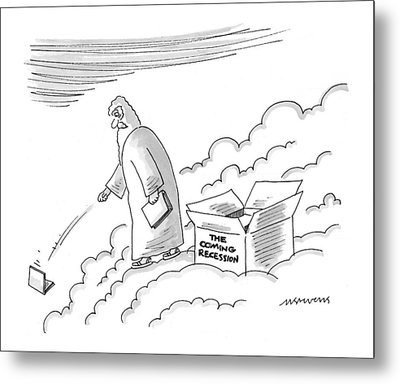 New Yorker June 7th, 1999 Metal Print by Mick Stevens