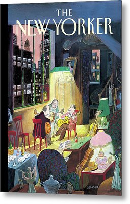 New Yorker March 13th, 2006 Metal Print by Jean-Jacques Sempe