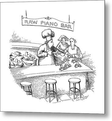 New Yorker March 18th, 1991 Metal Print by John O'Brien