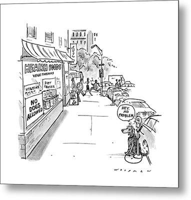 New Yorker May 20th, 1991 Metal Print by Bill Woodman