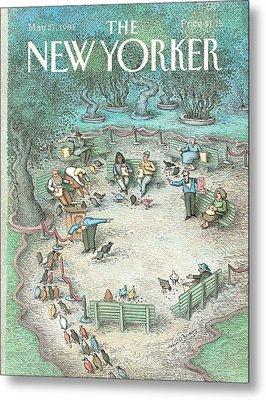 New Yorker May 27th, 1991 Metal Print by John O'Brien