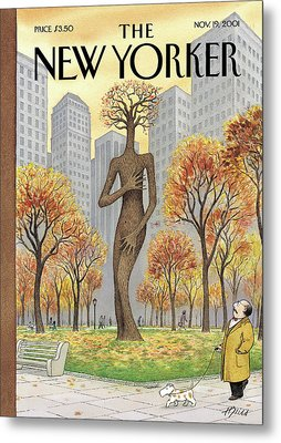 New Yorker November 19th, 2001 Metal Print by Harry Bliss