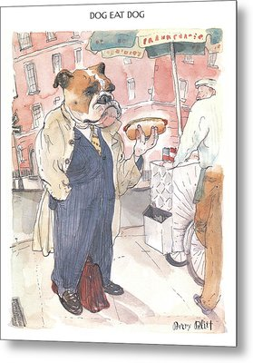 New Yorker November 23rd, 1998 Metal Print by Barry Blit