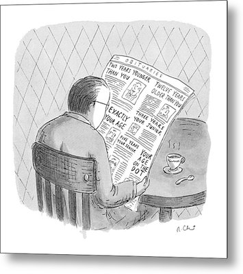 New Yorker October 25th, 1993 Metal Print by Roz Chast