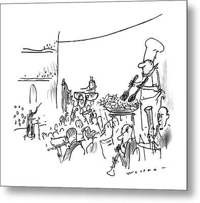 New Yorker October 7th, 1996 Metal Print by Bill Woodman