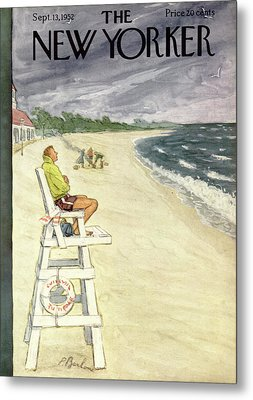 New Yorker September 13th, 1952 Metal Print by Perry Barlow