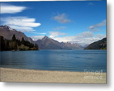 New Zealand Fjord Metal Print
