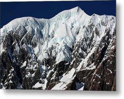 Metal Print featuring the photograph New Zealand Mountains by Amanda Stadther