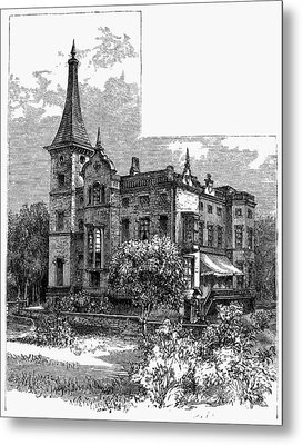 Newark Kearny Mansion Metal Print by Granger