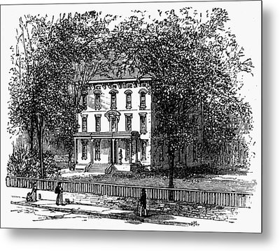 Newark Mansion, 1876 Metal Print by Granger