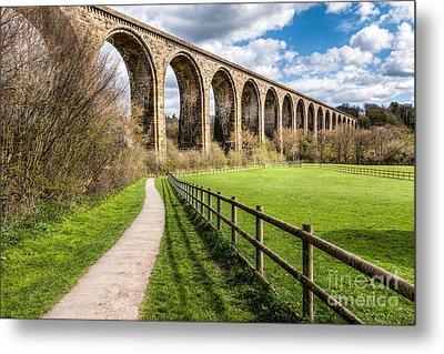 Newbridge Viaduct Metal Print