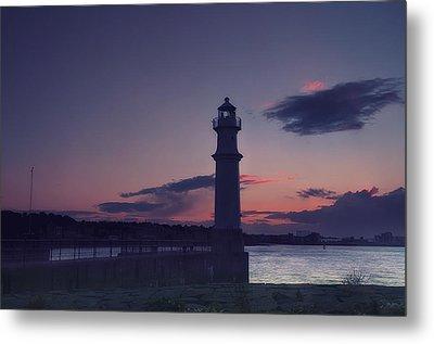 Newhaven Lighthouse Metal Print