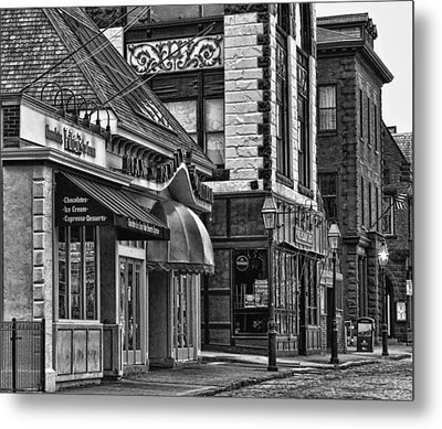 Newport In Monochrome Metal Print