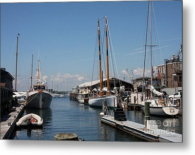 Newport - Rhode Island Metal Print by Christiane Schulze Art And Photography