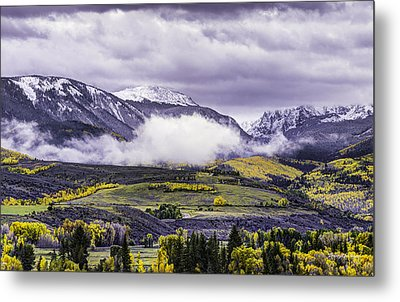 Newyorkmountaincolorado Metal Print by Darryl Gallegos