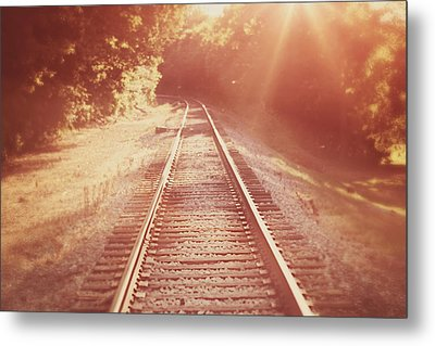 Next Stop Home Metal Print by Amy Tyler